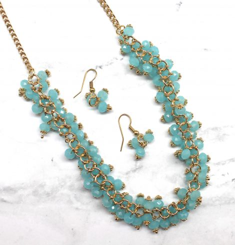 A photo of the Tiny Bubbles Necklace product