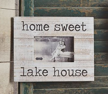 Home Sweet Lake House Frame - Best of Everything | Online Shopping