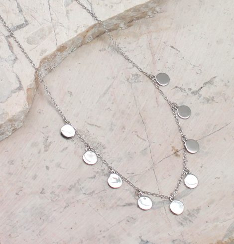 A photo of the Dangling Coins Necklace product