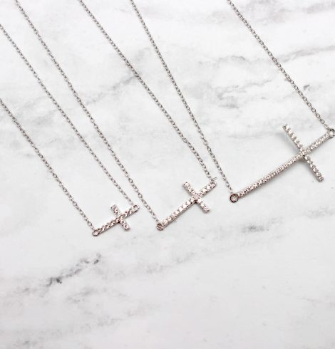 A photo of the The Faithful One Necklace product