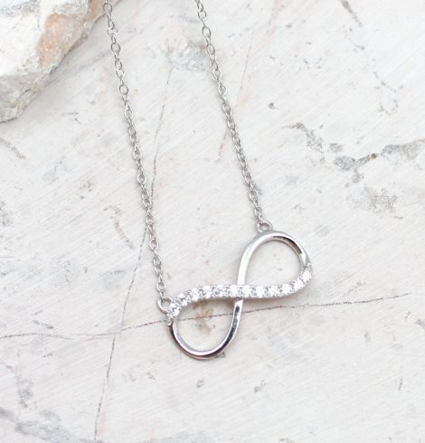 A photo of the Infinity Journey Necklace product
