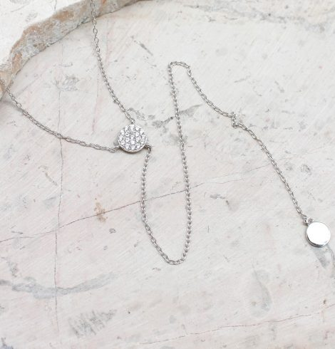 A photo of the Coin Y-Necklace product