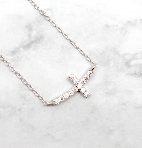 A photo of the The Faithful Way Necklace product