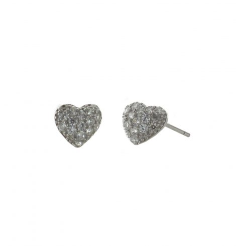 A photo of the Tiny Heart Studs product