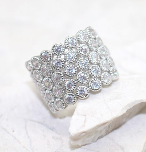 A photo of the Rhinestone Sea Ring product