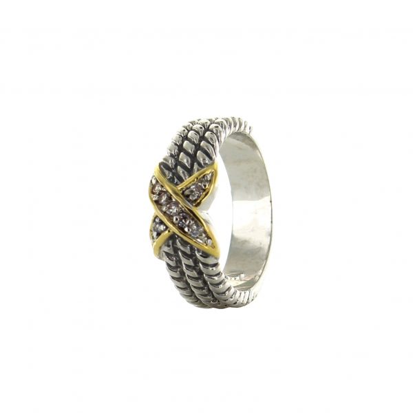 rhinestone x ring best of everything shopping
