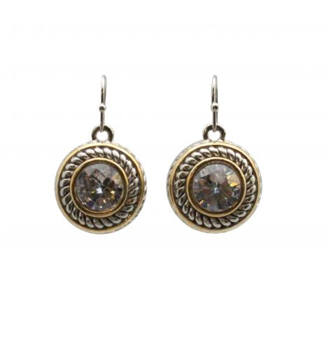 round_dangle_cable_earrings_clear