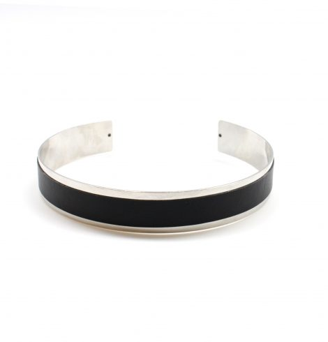 black&silver_thin_choker