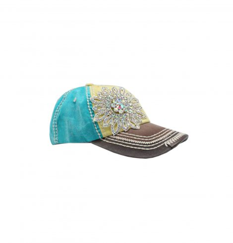 A photo of the Plain Blue Jean Hat product