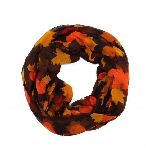 pumpkins_and_leafs_scarf_brownjpg