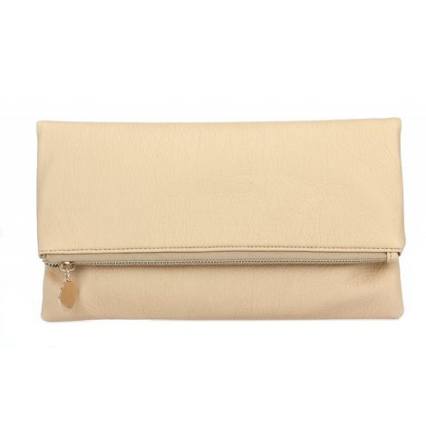 pu_zip_top_clutch_beige