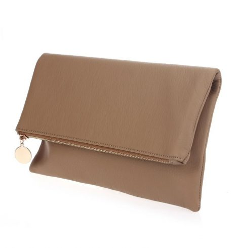 pu_zip_top_clutch_taupe