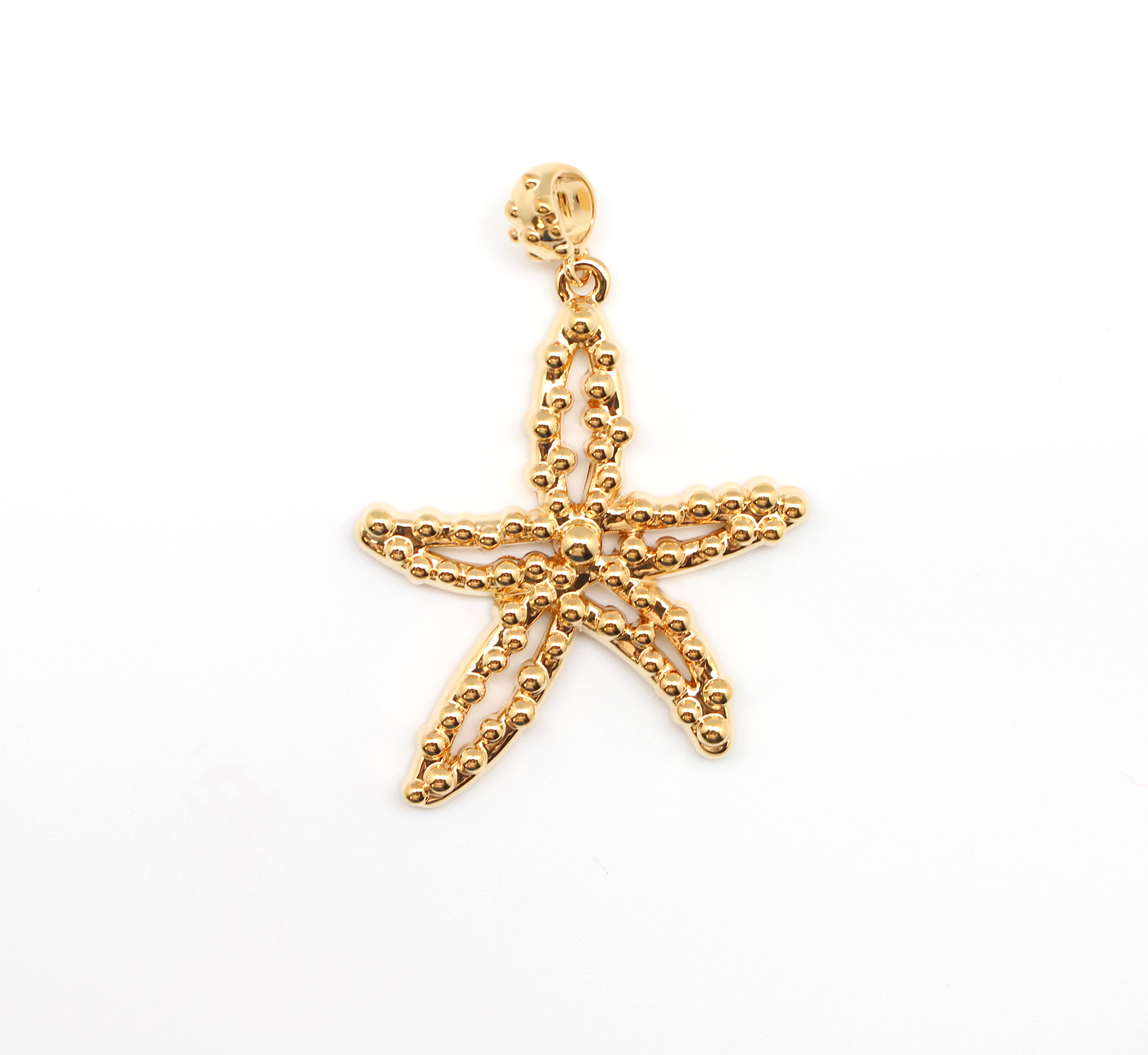 dotted starfish pendant best of everything shopping