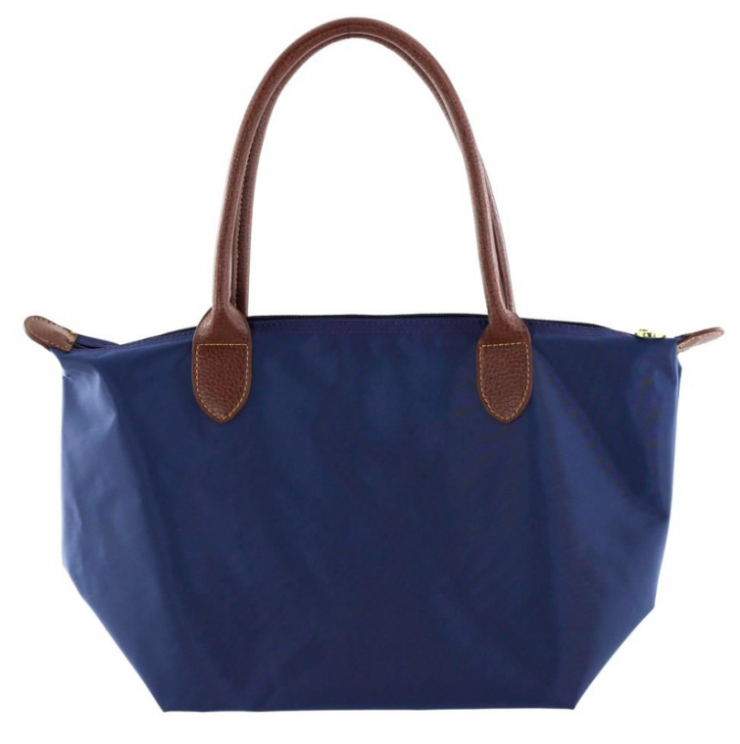 A photo of the Small Nylon Tote - Monogram Me! product