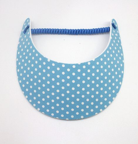 Fashion_visor_polkadot_blues