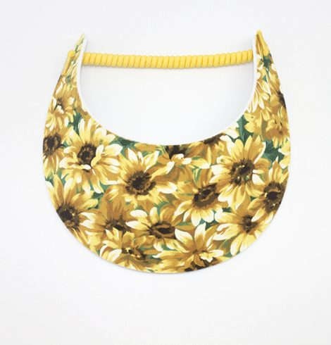 Fashion_visor_sunflowers