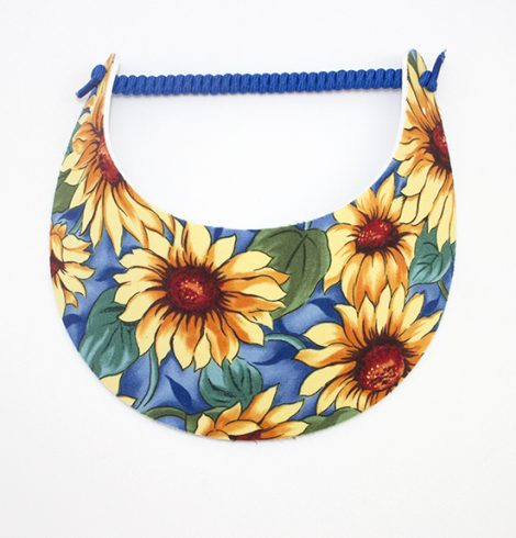Fashion_visor_sunflowers_&_blue