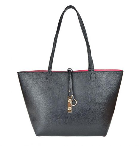 black_and_hot_pink_reversible_tote