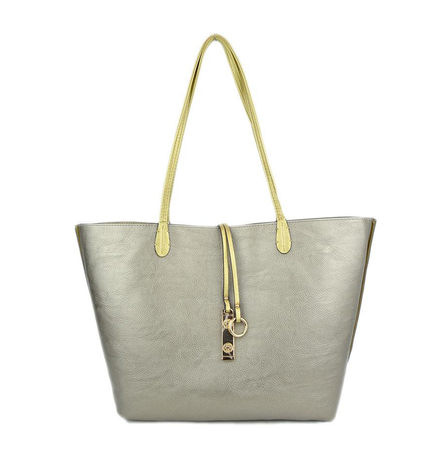 22609b244 Gold & Silver Reversible Tote - Best of Everything | Online Shopping