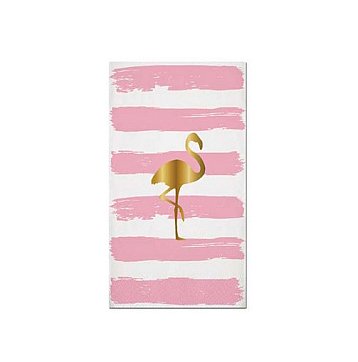gold_flaming_striped_guess_towel
