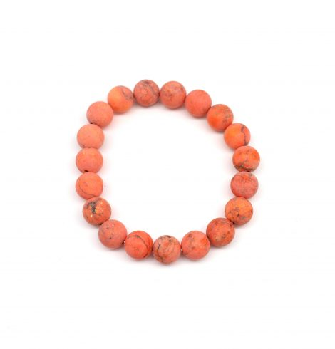 A photo of the Natural Stone Matte Beads Bracelet product