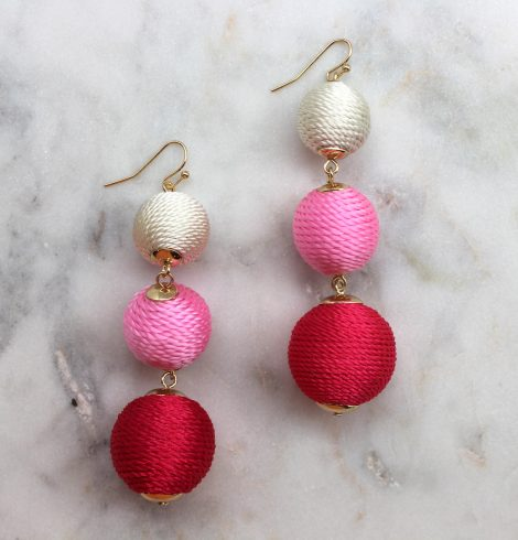 thread_ball_earrings_pinks
