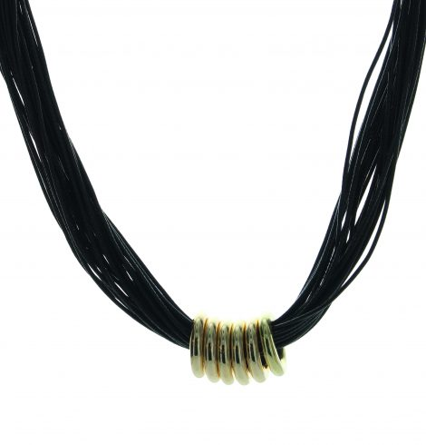 black_strings_gold_rings_necklace