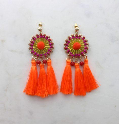 A photo of the Simply Tassel Earrings product