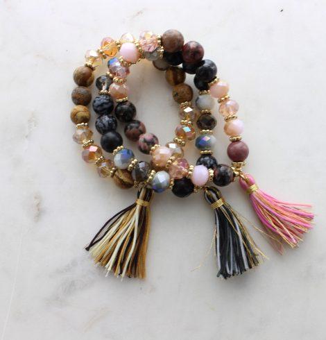 stones_beads_&_tassel_bracelets
