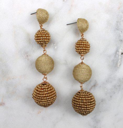 bead_&_thread_ball_earrings_gold