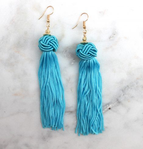 A photo of the Love Knot Earrings product