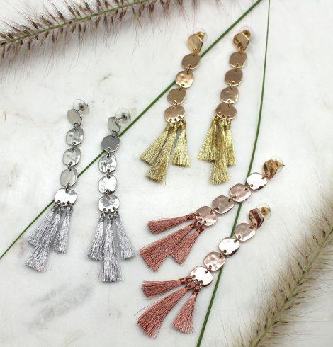 Aztec Dangle Tassle Earrings All