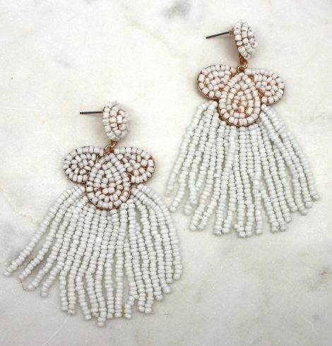 A photo of the Blossoming Beaded Earrings product