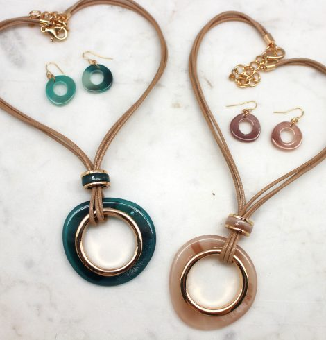 A photo of the Inner Circle Necklace product