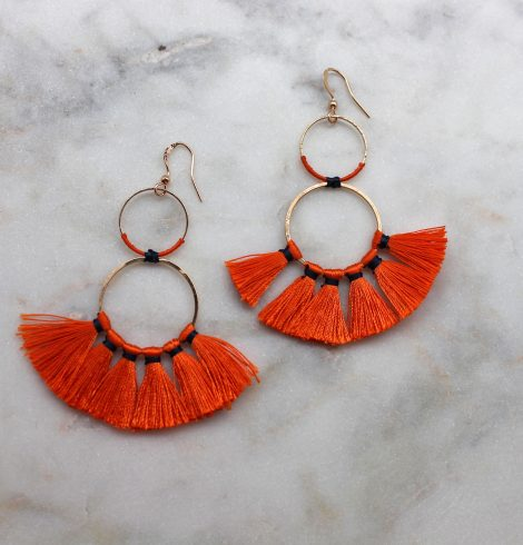 A photo of the Midnight Summer Fever Earrings product