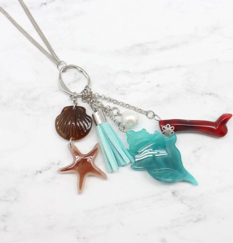 A photo of the Under The Sea Necklace product