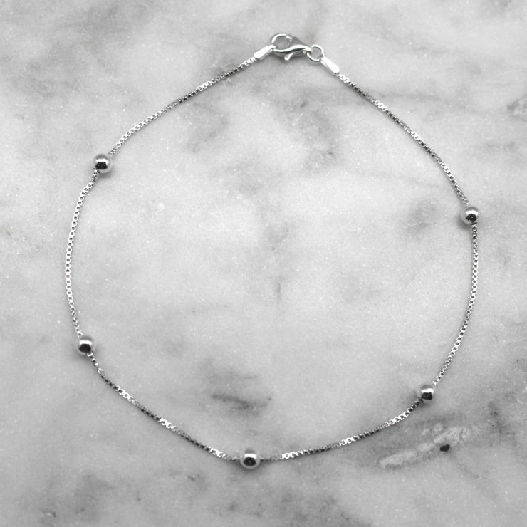 A photo of the Simply Wonderful Anklet product