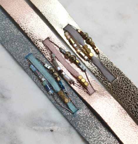 A photo of the Metallic Marvel Bracelet product