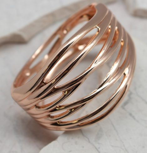 Crossing The Line Rose Gold Bracelet
