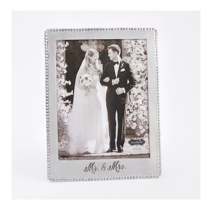 A photo of the Mr & Mrs Micro-bead Frame product