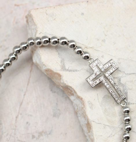 silver_cross_beaded_bracelet