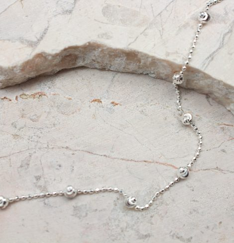 Sterling Sphere Bracelet