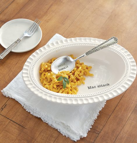 A photo of the Mac and Cheese Dish Set product