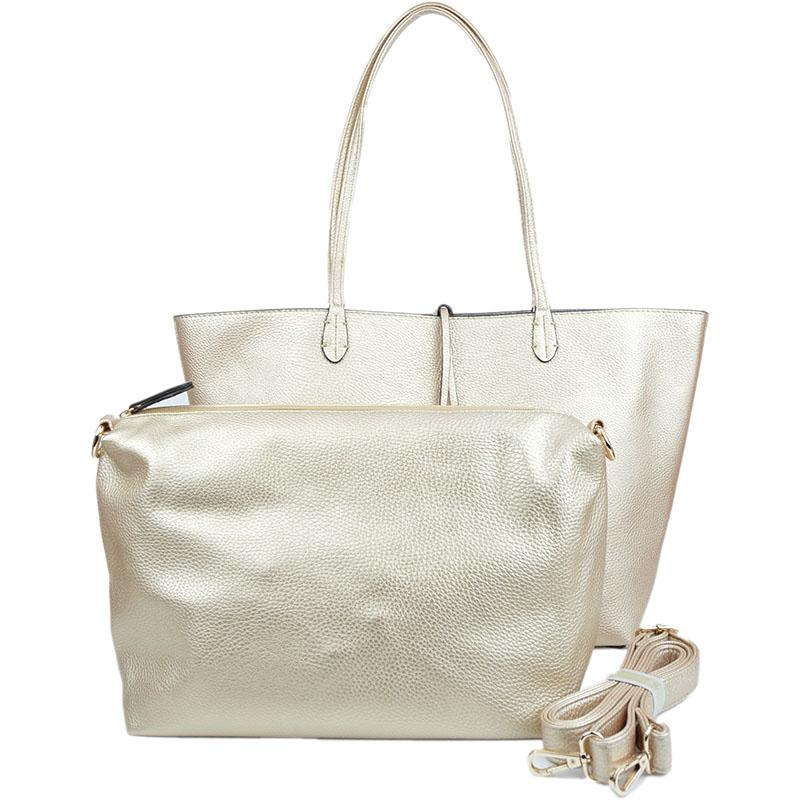 a39121727 Rose Gold & Silver Reversible Tote - Best of Everything | Online ...