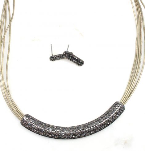 A photo of the Effortlessly Elegant Cord Necklace product
