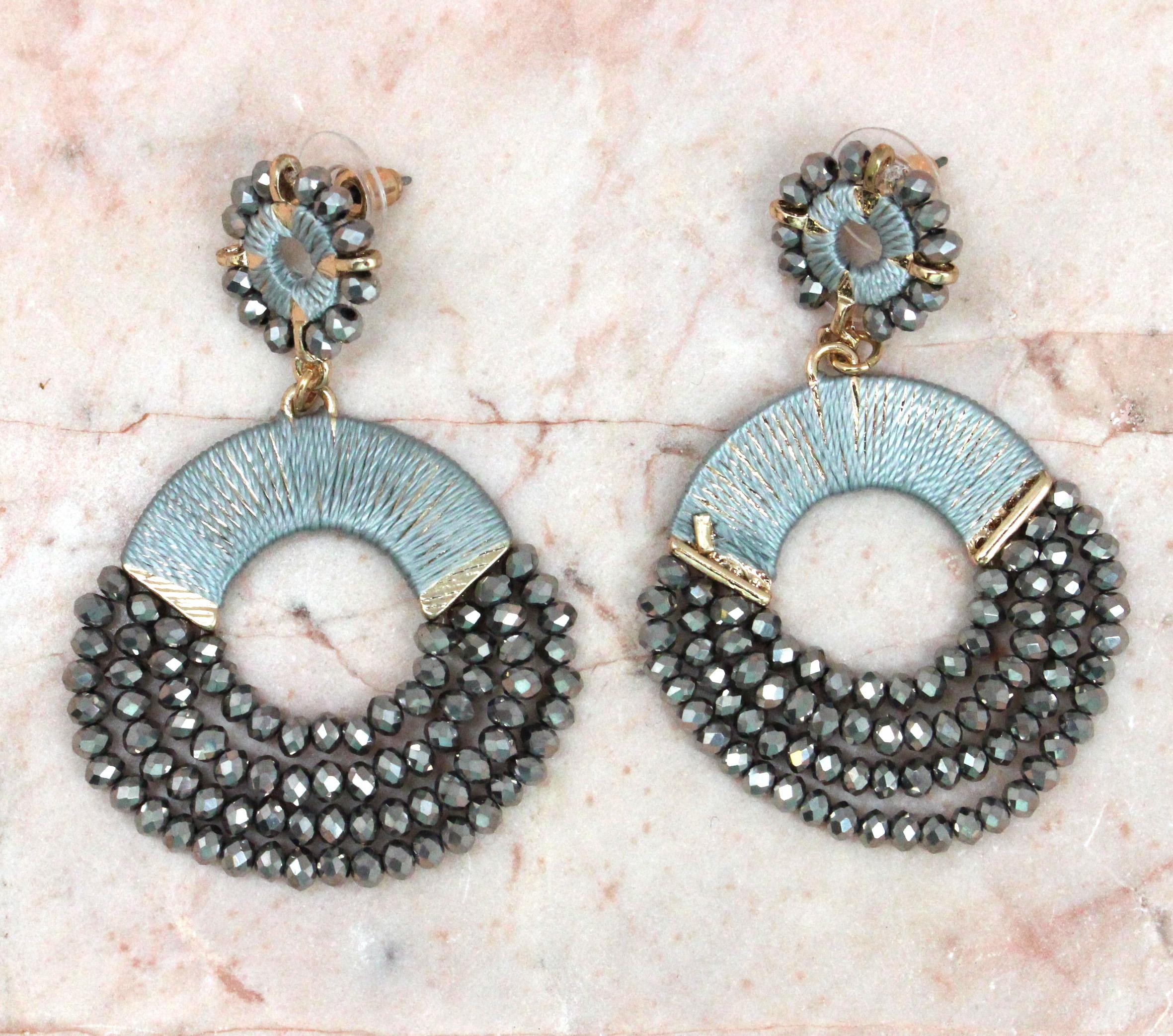 Ring Of Sparkle Earrings
