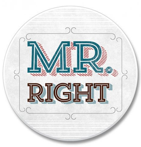 A photo of the Mr. Right product