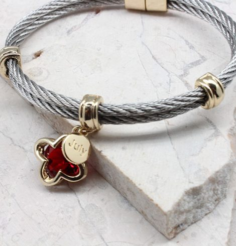 A photo of the Birthstone Clover Bracelet product