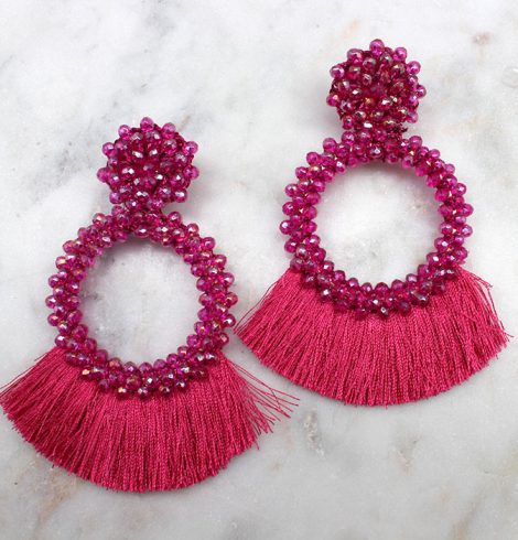 A photo of the Dance Party Earrings product