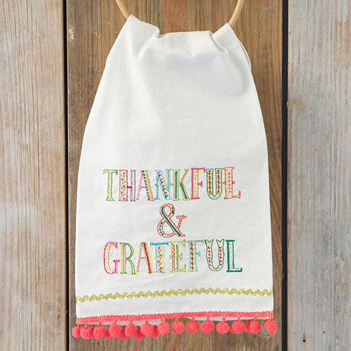 Thankful Grateful Kitchen Towel